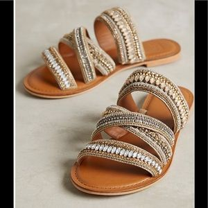 Azille Beaded Sandals